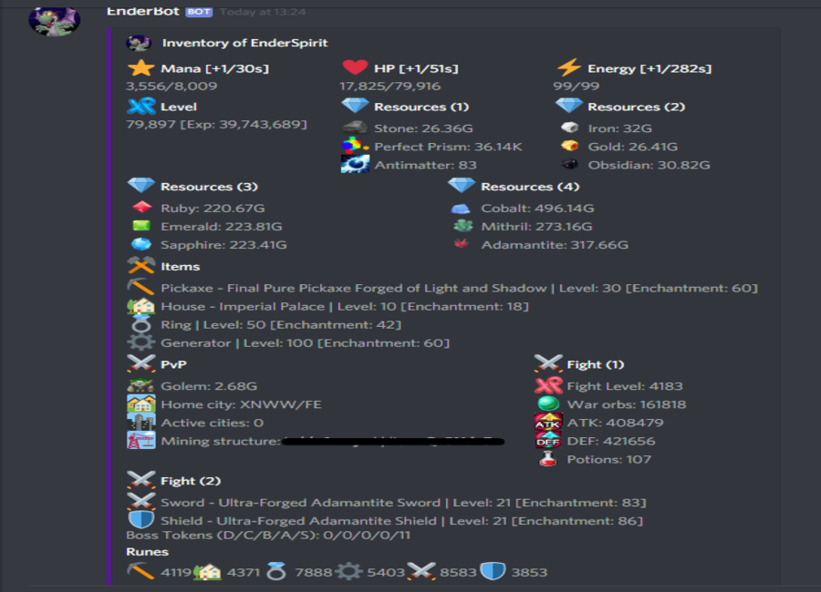 EnderBot - A Discord bot